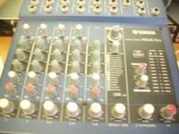 it is a yamaha 8 channel mixer with effects mg8 2fx