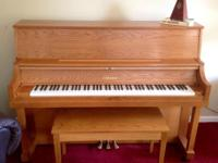 This Yamaha Model P22 Piano is in stunning condition.