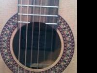 Acoustic Yamaha guitar, great for beginners! It's got