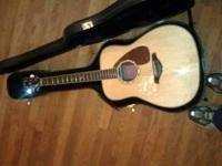 Like new FG730S with a hard case. Guitar is just over 1