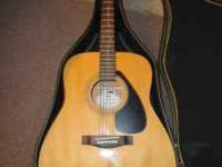 I have a Yamaha F-310 Acoustic Guitar that has had some