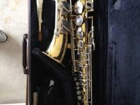 Alto Sax utilized for Jr. high and high school band.