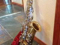 This YAS 23 saxophone is about 5 years old and his been