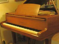 "Yamaha G1 (5'3"") Baby Grand Piano made in Japan (1969)"