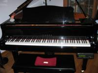BOUGHT NEW FROM ANDY OWENS PIANO AND NEVER USED IT