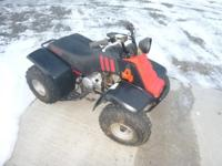 Up for sale is a hard to find Japanese made youth quad.