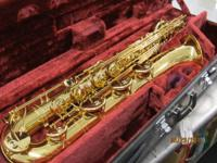 This listing is for a Yamaha baritone saxophone. Item