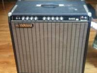 Yamaha Bass Amp for sale. Excellent condition! 5-band
