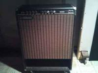 This a 78-82 vintage yamaha bass amp B100 115II . Point
