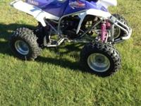 Yamaha blaster ysf200 4 wheeler -has DG pipe and