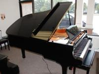 Yamaha conservatory grand piano, 611, model C6, year