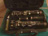 Yamaha Clarinet like new condition 3 years old, took to