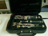 A lightly used clarinet for sale. all cleaned and