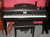 Yamaha Clavinova digital piano. Model number CVP-105.