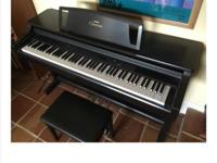 YAMAHA CLAVINOVA CLP-860 DIGITAL PIANO EXCELLENT