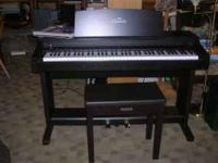 Clavinova Digital Piano with bench. Excellent