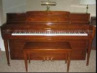 This Yamaha Console Piano was purchased in 1981. Serial