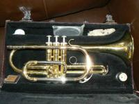 This Cornet has been professionally tuned and cleaned