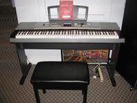 Yamaha DGX-530 with 88 Touch-Sensitive keys like new,