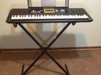 I am selling the Yamaha digital keyboard model YPT-220