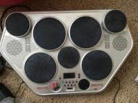 Yamaha DD-55 MIDI Drum Machine for sale. Includes