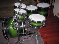 Grownup had, Yamaha Rock Tour Mahogany shells in