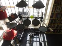 This listing is for a Yamaha electronic drumset. Items