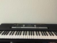 I am selling my Yamaha E243 61Key Premium portable