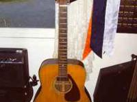 Older Yamaha Electric Acoustic FG-160-E.. I think it