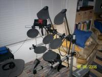 Electric Drum Kit, not a top notch kit but it will do