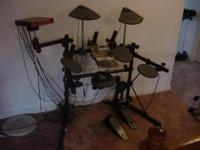 I HAVE A DTXSPRESS DRUM SET WITH HEAD PHONES. THE BASS