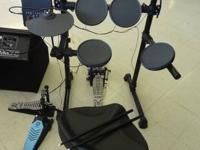 UP FOR SALE IS A YAMAHA ELECTRIC DRUM COLLECTION! THIS