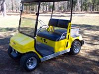 Cool and fun to drive! Yamaha 36 volt Electric Golf
