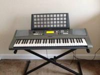 Yamaha electrical piano with 61 Full Size Touch