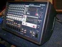 YAMAHA 512 MIXER/AMP 500 WATTS 2 YEARS OLD USED VERY