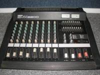 Yamaha EMX 2200 Powered Mixer...8channel , Effects, 250