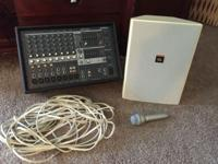Yamaha EMX312SC eight channel stereo powered mixer