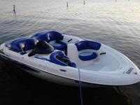 Up for sale yamaha exciter 270 with Bimini top, new