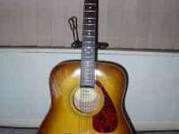 Yamaha F335TBS acoustic guitar. Sweet full-size