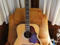 This is a nice guitar in good condition, Pick guard is