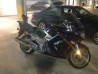 2006 FJR with very low miles. Oil changed once a year
