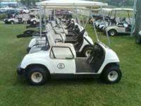THIS IS A REALLY NICE 1996 YAMAHA GAS POWERED GOLF CART