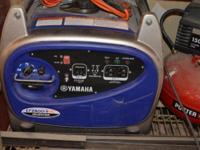Yamaha Generator. It has about 24 hours on it 2years