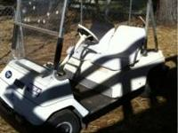 Yamaha Golf Cart. Uses unleaded gas. Engine rebuilt in