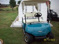 NICE SHAPE YAMAHA GOLF CART. GOOD BATTERIES, 48 VOLT.