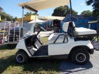 WE HAVE A YAMAHA GOLF CART IN GREAT CONDITION. HAS