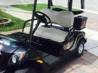 2012 gas fuel injected Yamaha golf cart with Bluetooth