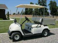I have a late '90's model electric Yamaha golf cart