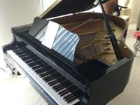 "Yamaha grand piano (5'8"") with Yamaha Disklavier & MU50"