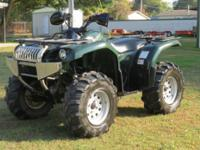 I have a nice 2004 Yamaha Grizzly 660 4x4 4 wheeler for